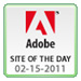 Adobe Site of the Day